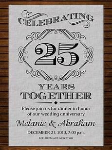 Anniversary Cards Templates Silver Wedding Anniversary Invitations Templates