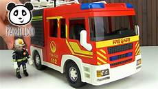 Ausmalbilder Feuerwehr Playmobil Playmobil Feuerwehr L 246 Schgruppenfahrzeug Licht Und Sound