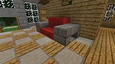 sofa minecraft bauen brokeasshome