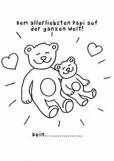 Vatertag Ausmalbilder Zum Ausdrucken Ausmalbild Vatertag Vatertagsurkunde Teddyb 228 Ren Kostenlos
