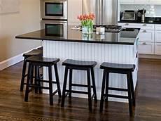 kitchen islands with breakfast bars hgtv