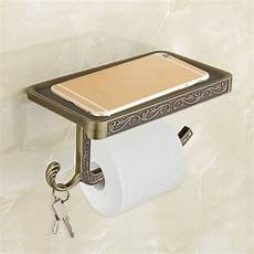 Toilet Paper Shelf Holder Wall Mounted by Bathroom Shelves Antique Carving Toilet Roll Paper Rack