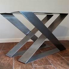 pied de table en metal z shape steel table legs desk legs strong and sturdy set of