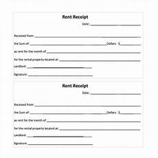 rent receipt templates word excel fomats