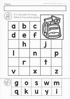 cut and paste letter worksheets for kindergarten 23464 pin on alphabet