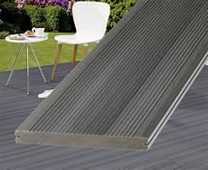 terrassenplatten wpc wpc terrassendielen grau 300cm g 252 nstig kaufen