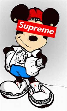 Mickey Mouse Wallpaper Supreme by Mickey Mouse Gif On