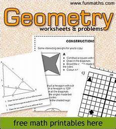 geometry math worksheets for high school 814 free highschool geometry worksheets and problems geometry worksheets teaching geometry