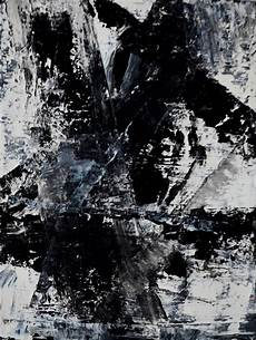 Black And White Abstract Paintings
