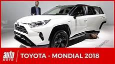 Mondial De L Auto 2018 Toutes Les Nouveaut 233 S Toyota