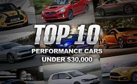 Top 10 Performance Cars Under $30000 &187 AutoGuidecom News