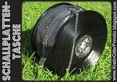 Kreativ Oder Primitiv Schallplatten Tasche