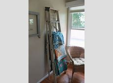 Tips: How To Decorate Your Room With Quilt Rack Ladder