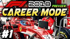 f1 2018 ps4 f1 2018 ps4 career mode preview part 1 exclusive gameplay