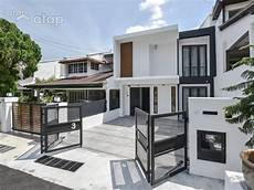 and stylish terrace house designs in malaysia atap co
