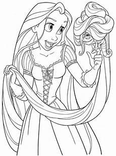 Ausmalbilder Rapunzel Malvorlagen Pdf Printable Free Colouring Pages Disney Princess Rapunzel