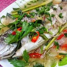Resepi Ikan Siakap Masak Stim Lemon