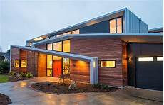 house with funky roof angles hemocoel residence charms with an exclusive facade and