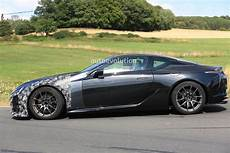2020 lexus lc f spied for the time looks to become