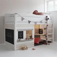 cabane de lit superposé lit cabane 90x200 233 volutif gris 233 cologique et design