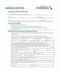 free 8 sle business financial statement forms in pdf doc