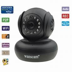 Wanscam Sans Fil Wifi Ip Ir Vision Nuit Bl Prix