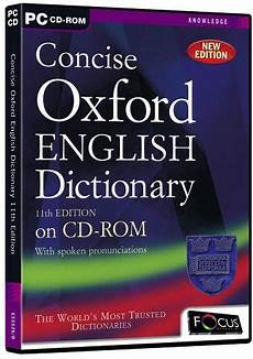 dictionary to concise oxford dictionary eleventh version