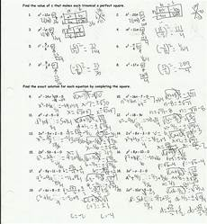 completing the square worksheet helping times