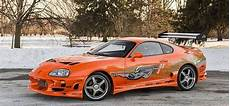 paul walker supra paul walkers toyota supra from the fast and furious up for