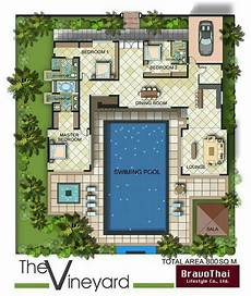 u shaped house plans with courtyard pool pin by monique morrell on my island home in 2019 pool