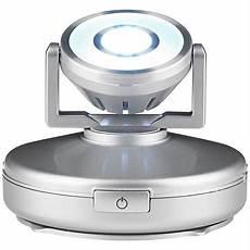 silver high output battery powered led spot light n4803