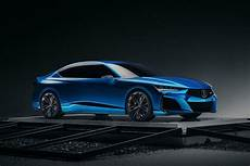 acura type s concept previews a tougher turbocharged tlx roadshow