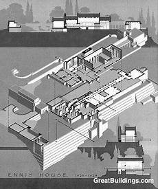 ennis house floor plan ennis house california ennis house 183 los angeles