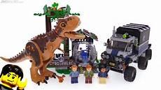 lego jurassic world carnotaurus gyrosphere escape review