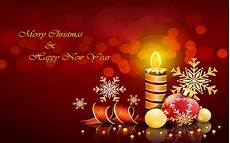 merry christmas and happy new year decorative candle decorations greeting card 3840x2400