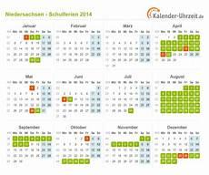 Schulferien Niedersachsen 2014 Ferienkalender Zum Ausdrucken