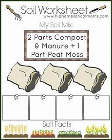 plants and soil worksheets 13633 free garden planner for hip homeschool