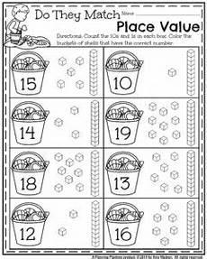 place value worksheets kindergarten free 5173 summer kindergarten worksheets planning playtime