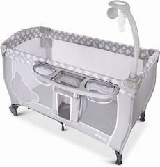hauck baby reisebett 187 babycenter teddy grey 171 mit mobile