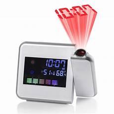 Digital Time Projector Snooze Alarm Clock by Digital Lcd Led Time Projector Colorful Snooze Alarm Clock
