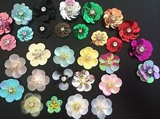 fiori patchwork aliexpress buy 3d flowers sequins patch sewing on