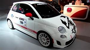 2013 Fiat 500 Abarth Racing Car  Exterior Walkaround