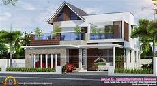 modern house plans in kerala modern and traditional big house in kerala hd image