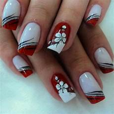 19 cute inspiring nail art designs ideas red nail