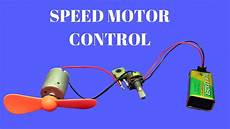 how to make dc motor speed controller simple dc motor speed control circuit youtube