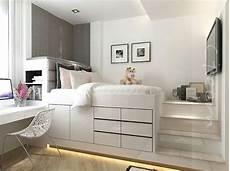 platform bed spaces bedroom in 2019 bedroom bed