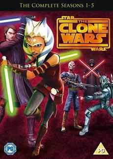 Wars The Clone Wars Malvorlagen Wars Clone Wars Seasons 1 5 Dvd Zavvi