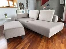 Montel Designer Couch Sofa Mit Hocker Acheter Sur Ricardo