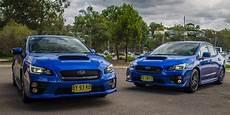 Subaru Wrx V Subaru Wrx Sti Comparison Review Photos