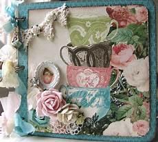Scrapn4mygirlz Shabby Chic Tea Time Chipboard Album